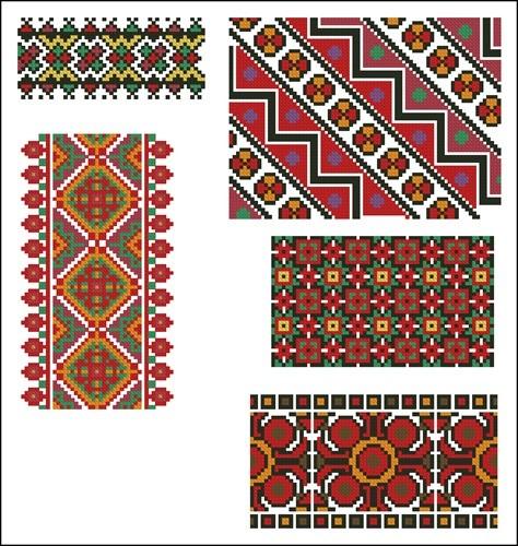 Украинские орнаменты  104