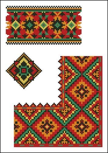 Украинские орнаменты 105