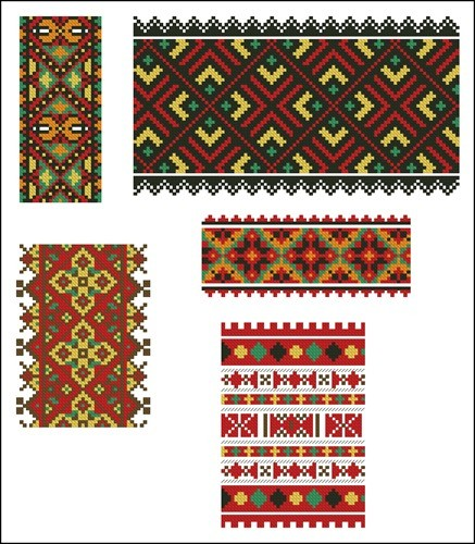 Украинские орнаменты 107