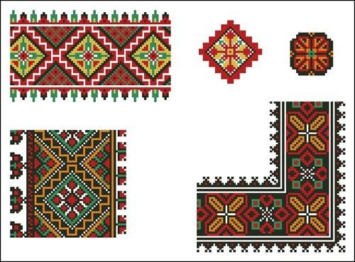 Украинские орнаменты 108