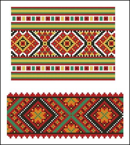 Украинские орнаменты Ксении Колотило