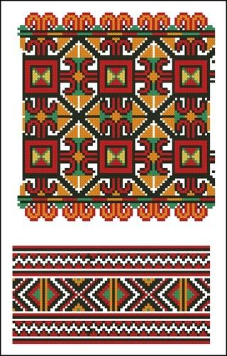 Украинские орнаменты 8