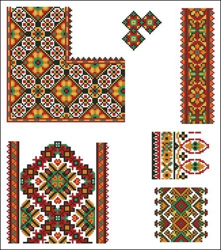 Украинские орнаменты 9