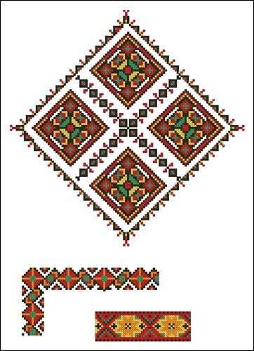 Украинские орнаменты 10
