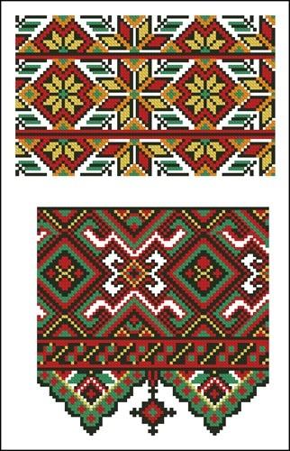 Украинские орнаменты 11