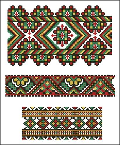 Украинские орнаменты 13