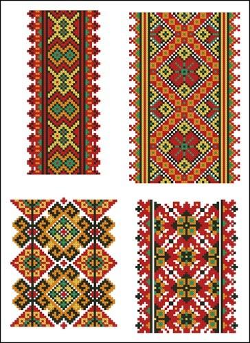Украинские орнаменты 14