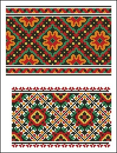 Украинские орнаменты 15