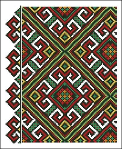 Украинские орнаменты 16