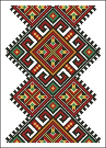 Украинские орнаменты 18