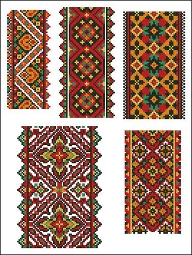 Украинские орнаменты 19
