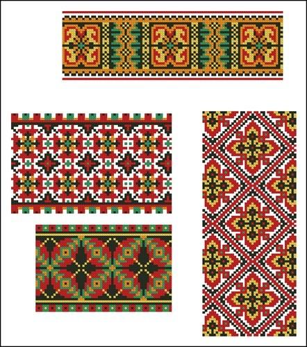 Украинские орнаменты  21