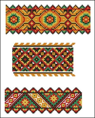 Украинские орнаменты 23