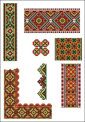 Украинские орнаменты 24