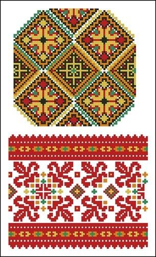Украинские орнаменты 25