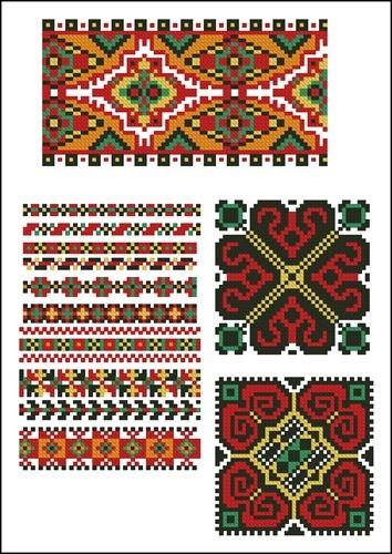 Украинские орнаменты 26