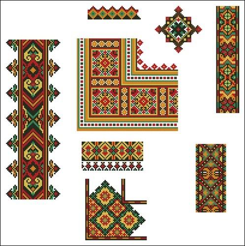 Украинские орнаменты  27