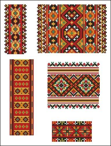 Украинские орнаменты 28