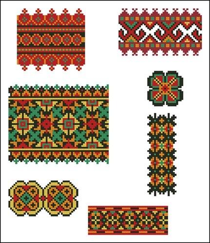Украинские орнаменты 30