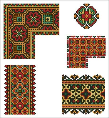 Украинские орнаменты 31