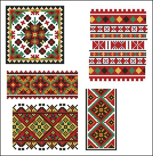 Украинские орнаменты 33