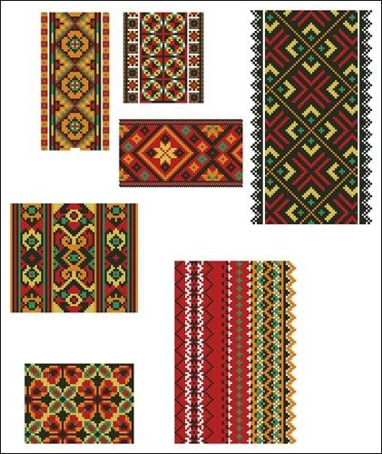 Украинские орнаменты 34