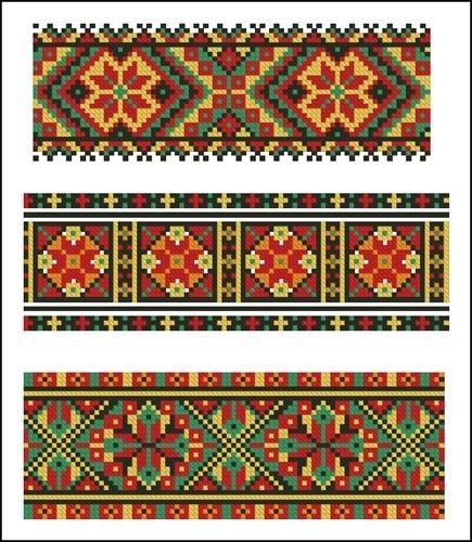 Украинские орнаменты 35