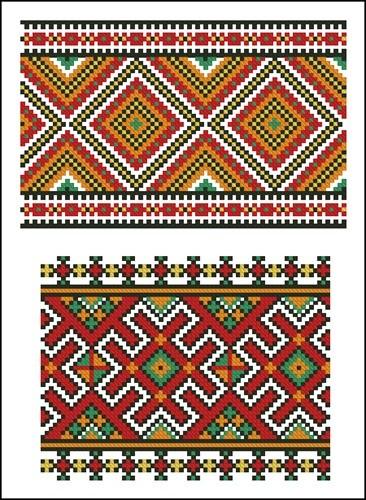 Украинские орнаменты 36