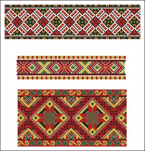 Украинские орнаменты 39
