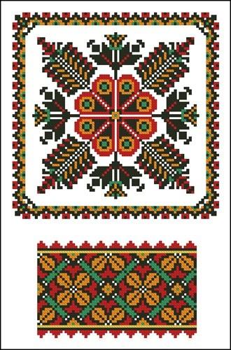 Украинские орнаменты 40