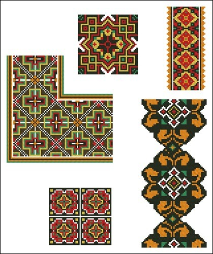 Украинские орнаменты 41