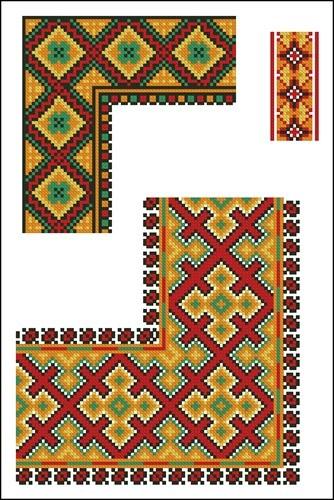Украинские орнаменты 42