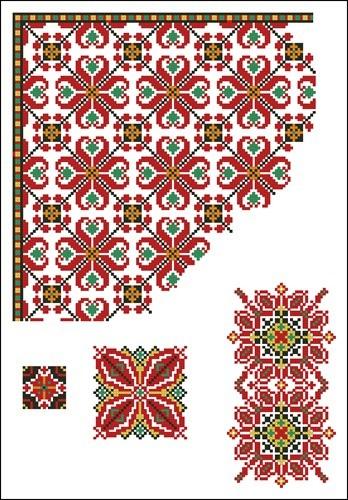 Украинские орнаменты 43