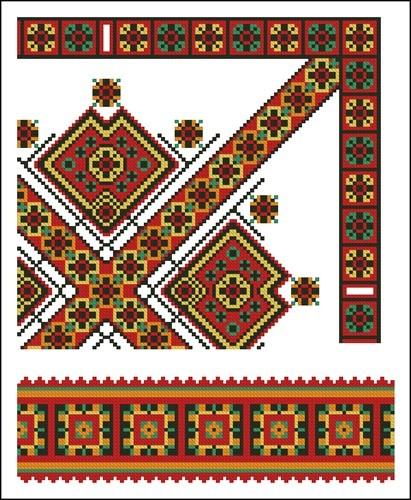 Украинские орнаменты 44