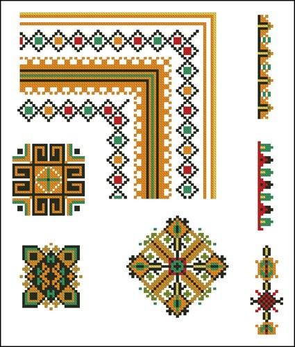 Украинские орнаменты 46