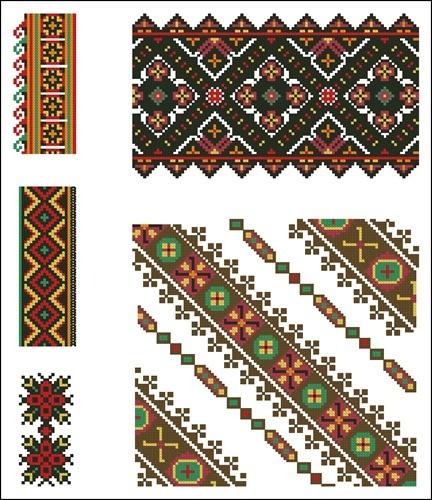 Украинские орнаменты 48