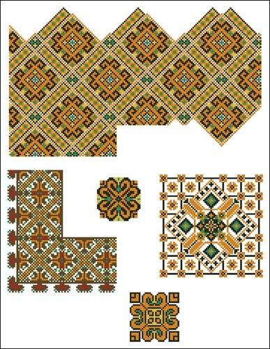Украинские орнаменты 49