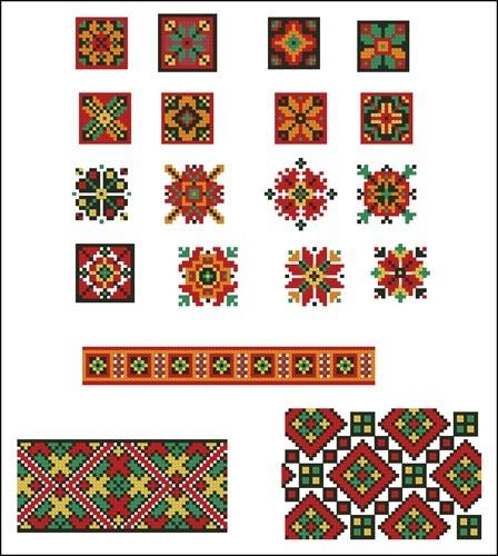 Украинские орнаменты 50