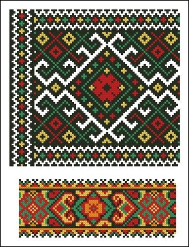 Украинские орнаменты 51