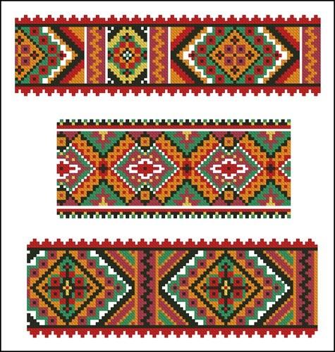 Украинские орнаменты 54