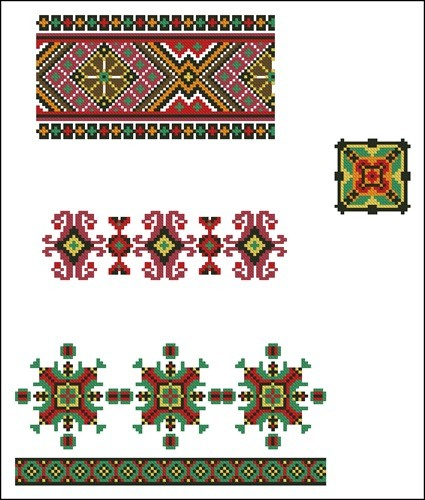 Украинские орнаменты 55