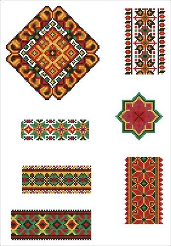 Украинские орнаменты 56