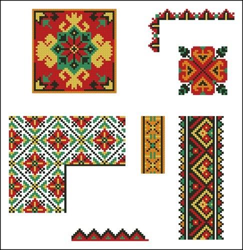 Украинские орнаменты 60