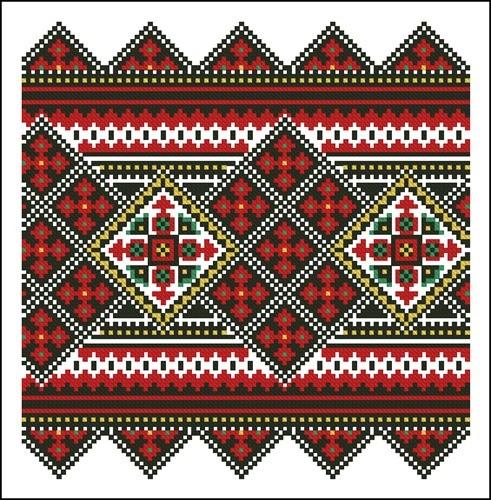 Украинские орнаменты 63