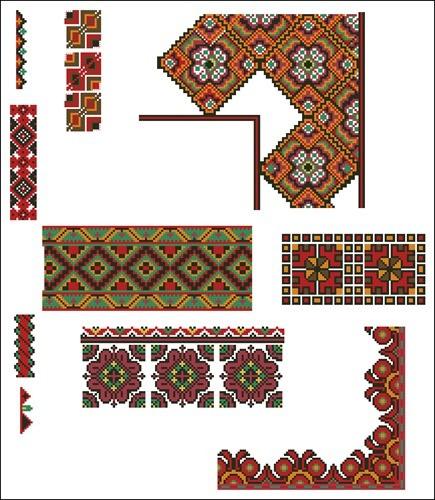 Украинские орнаменты 64