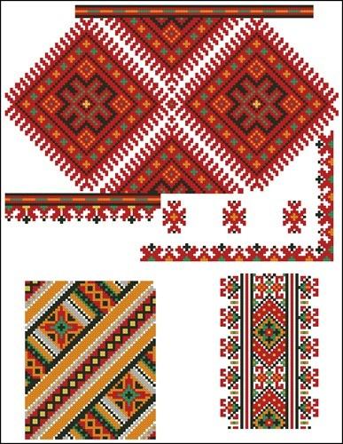 Украинские орнаменты 66