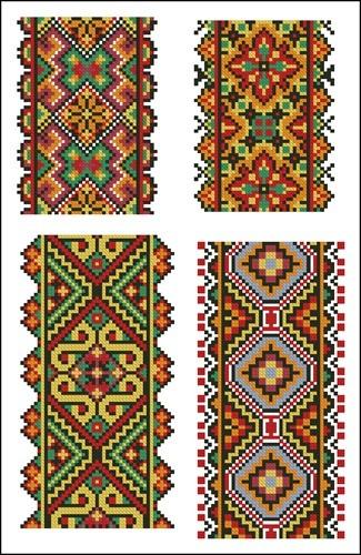 Украинские орнаменты 67