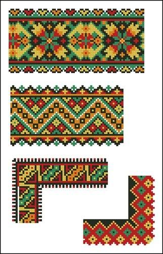 Украинские орнаменты 69