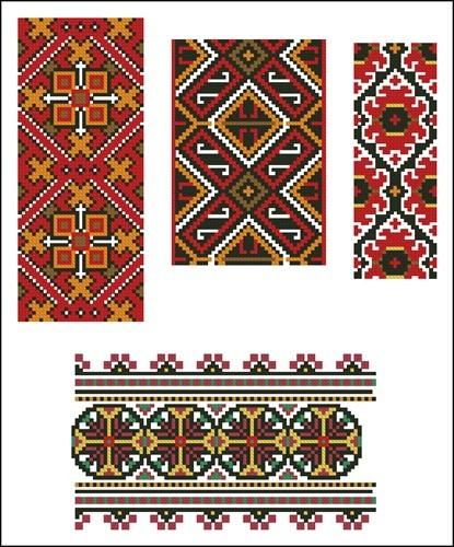 Украинские орнаменты 70