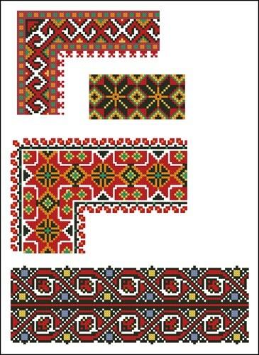 Украинские орнаменты 71